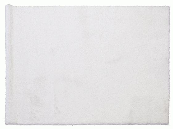 White Shag Rug 5'6x3'10 main image