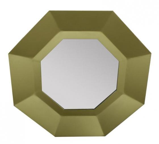 Gold Octagon Mirror Art  main image