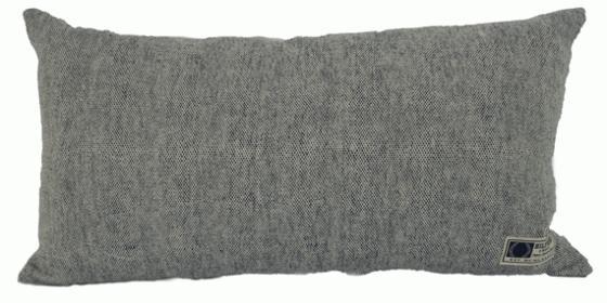Grey Tweed Textured Pillow main image