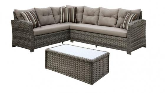 Moura Patio Sectional w/ Coffee Table main image