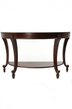 Dark Cherry Entry Table main image