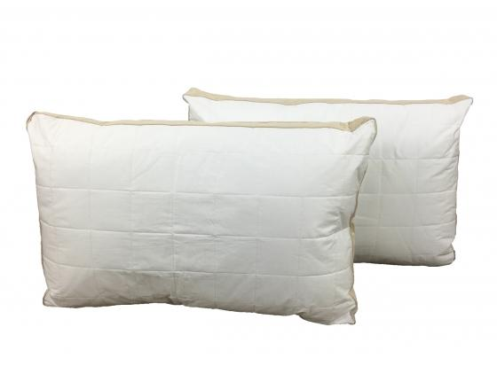 Standard Pillows with Brown Trim main image