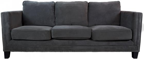 Grey Studded Sofa main image