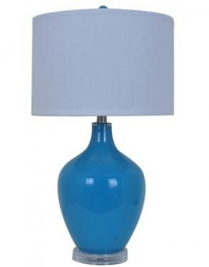 Avery Blue Table Lamp  main image