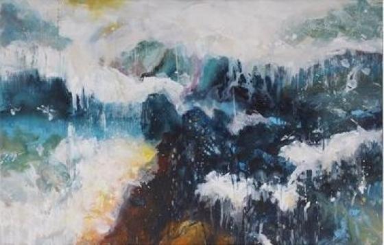 Abstractive Arctic Wall Art main image