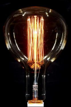 Golden Edison Bulb R180 main image