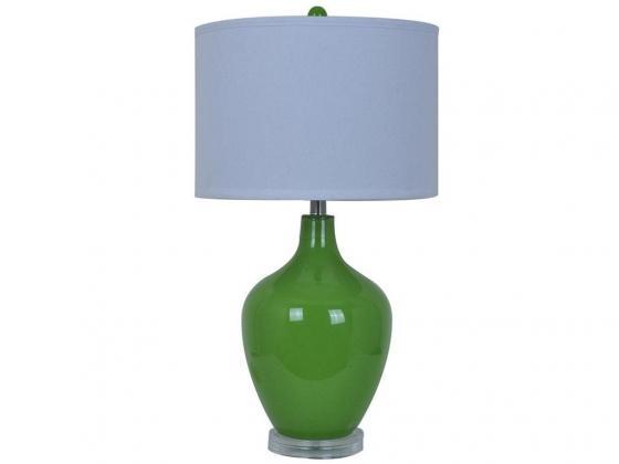Avery Green Table Lamp main image