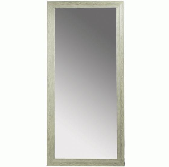 Imitation Wood Framed Floor Mirror main image