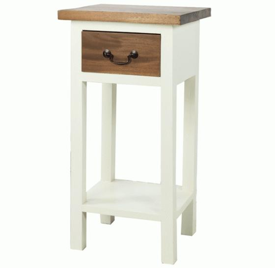 Wood Top Side Table  main image