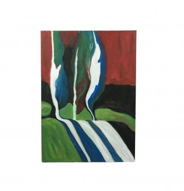 Abstract Trees Painting main image