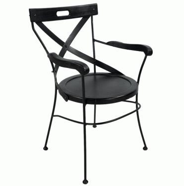 Metal and Wood Chair  main image