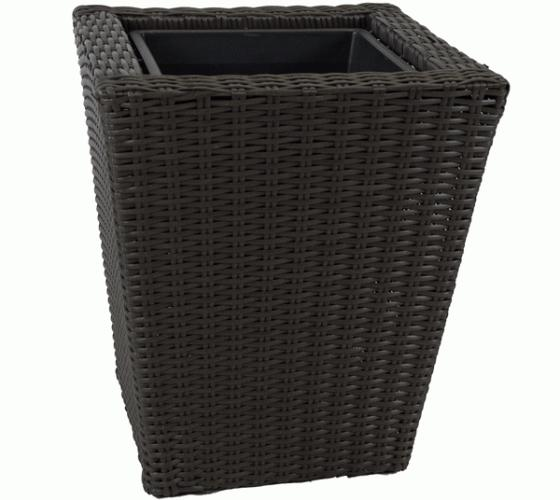 Outdoor Wicker Planter  main image