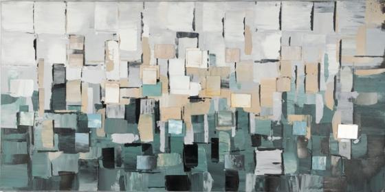 Abstract Art Blues & Grays main image