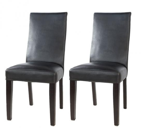 Faux Leather Dining Chairs main image