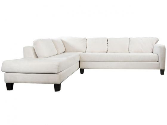 2 Piece Sectional Sofa - Off White main image