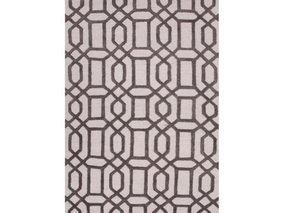 Hand-tufted Geometric Pattern Rug 8'x11' main image