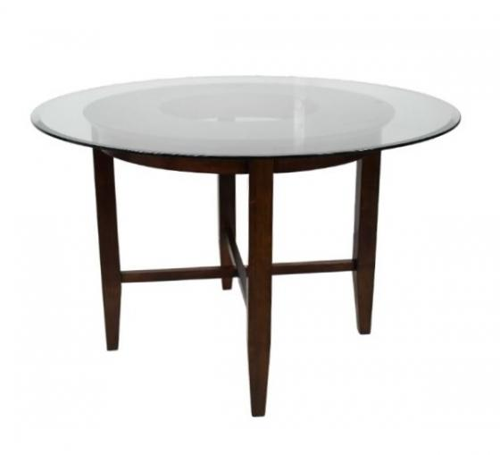 Dining Table W/ Glass Top main image