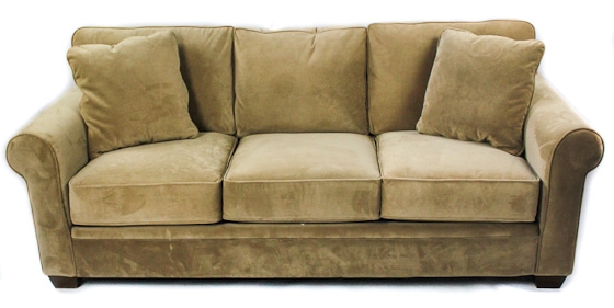 Lush Sofa in Camel main image