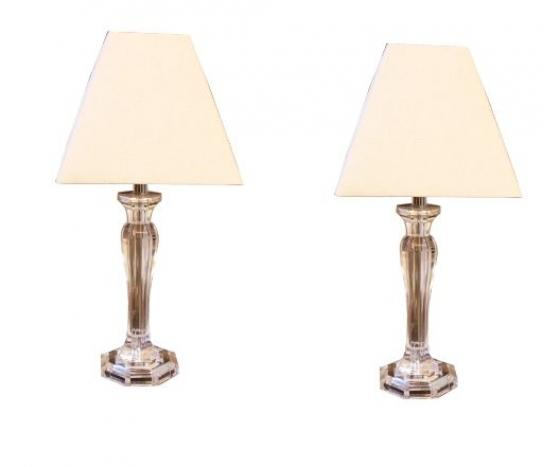 Clear Accent Table Lamps main image