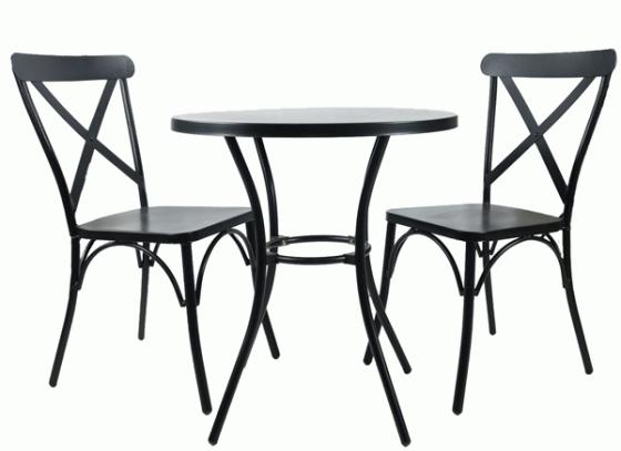 Metal Bistro Set  main image