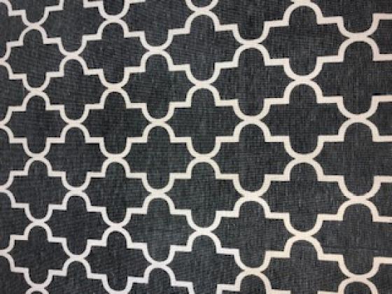 Grey And Cream Rug 6'x9' main image