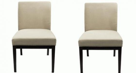 Cream & Espresso Dining Chairs main image