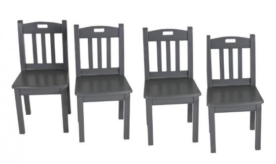 Accent Grey Children Chair Set main image