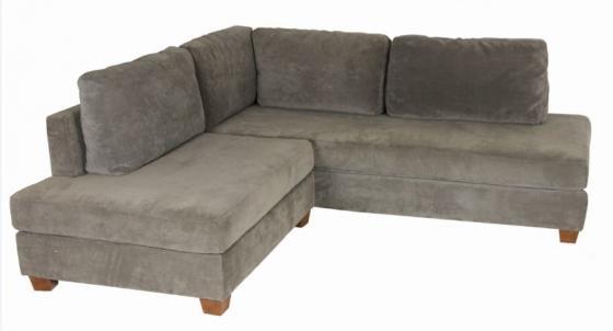 Grey Two Sectional Sofa Set main image