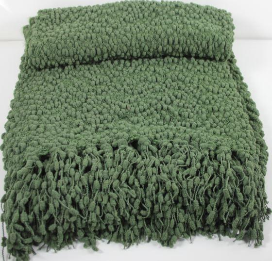 Green Accent Throw main image