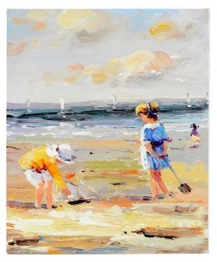 Children At Beach main image