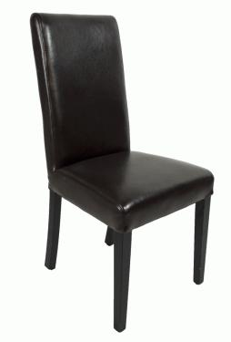 Dark Brown Leather Chair  main image
