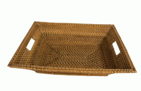 Blonde Rectangular Basket  main image