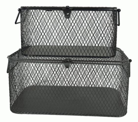 Grey Wire Baskets main image