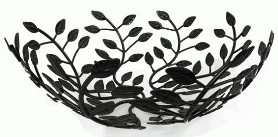 Metal Leaf Decorative Bowl main image