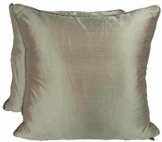 Beige Silk Pillows main image