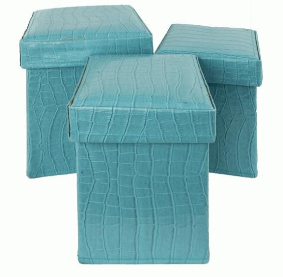 Blue Snakeskin Boxes main image