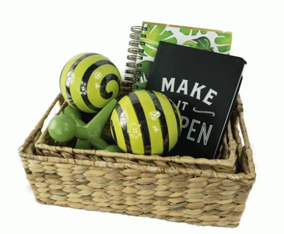 Basket and Notebook Set main image
