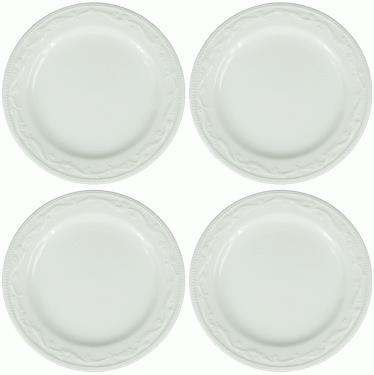 White Dinner Plates  main image