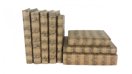 Music Note Book Set