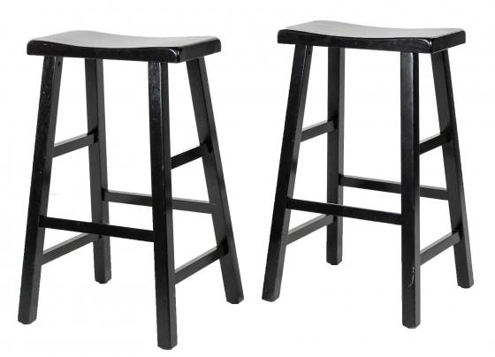 Tall Black Bar Stools main image