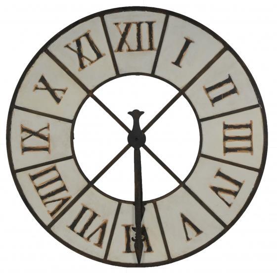 Large Metal Wall Clock main image