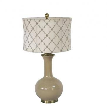 Pattern Beige Lamp main image