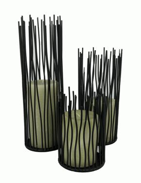 Wrought Iron Candle Holders main image
