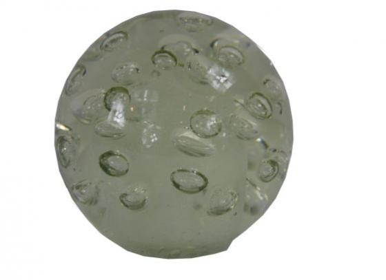 Clear Glass Sphere With Bubbles  main image