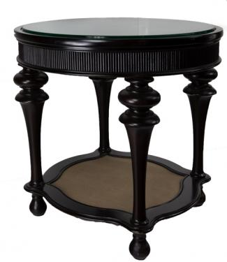 Accent Table with Glass top main image