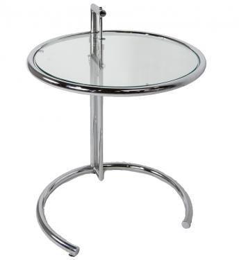 Modern Metal and Glass Stand main image