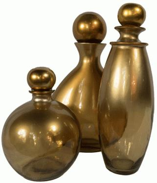 Gold Decorative Vases main image