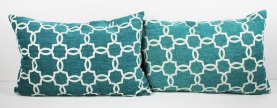 Green Pattern Pillow Set main image