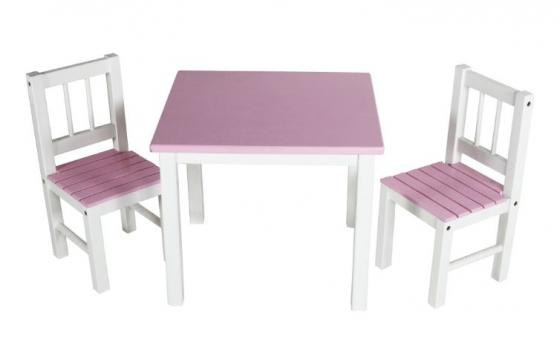 Children's Pink Table Set main image