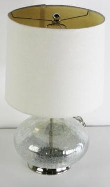 Round Glass Bottom Lamp main image